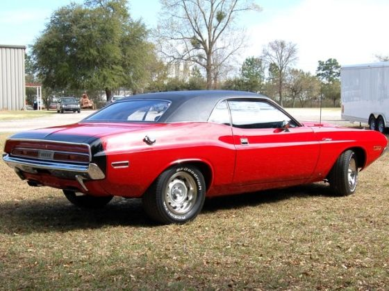 Red Dodge Challenger 1970. Page 3 - Dodge Challenger