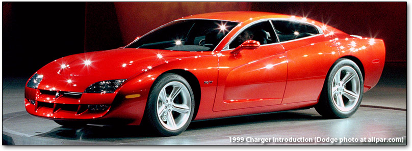 If they're not going to copy the original, then take the '99 Charger