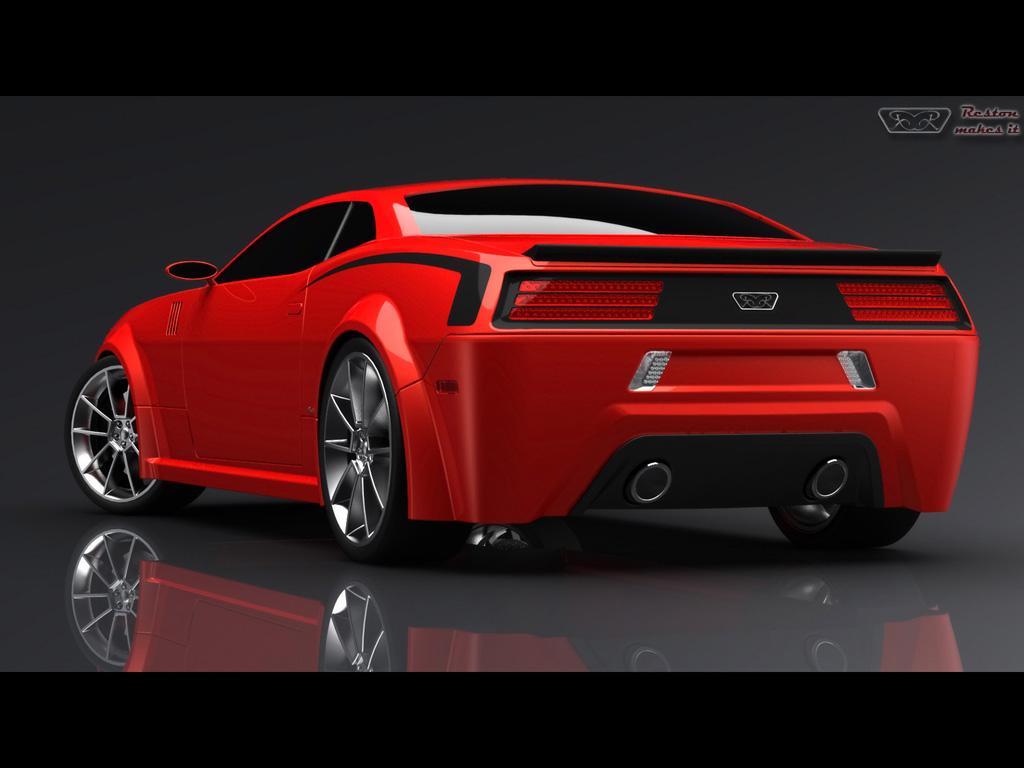 Hemi Cuda Concept Car