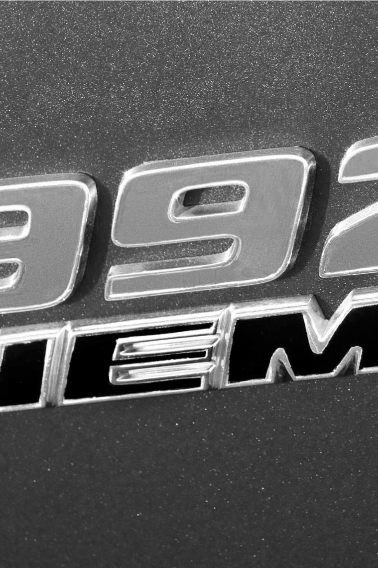 392 Hemi Badge - iPhone
