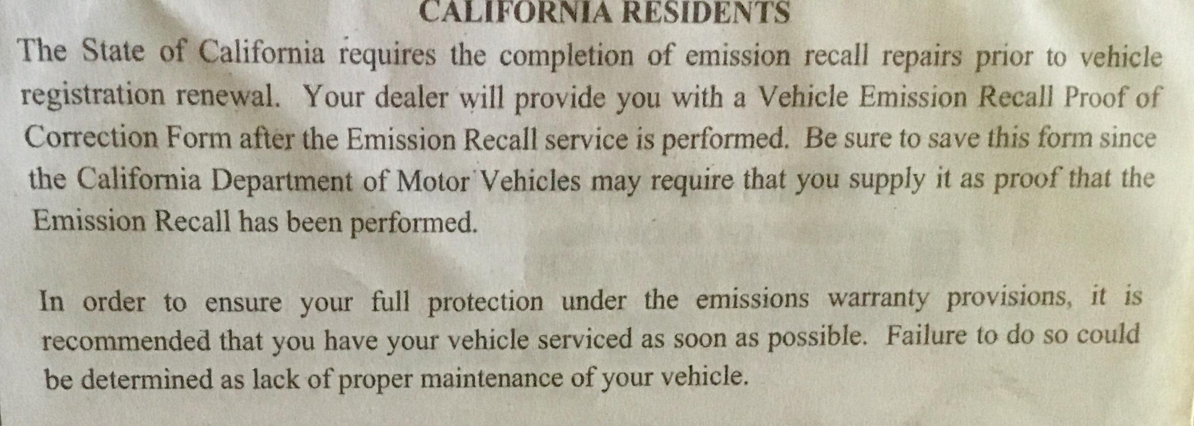 Bad Gas Mileage After Recall Dodge Challenger Forum