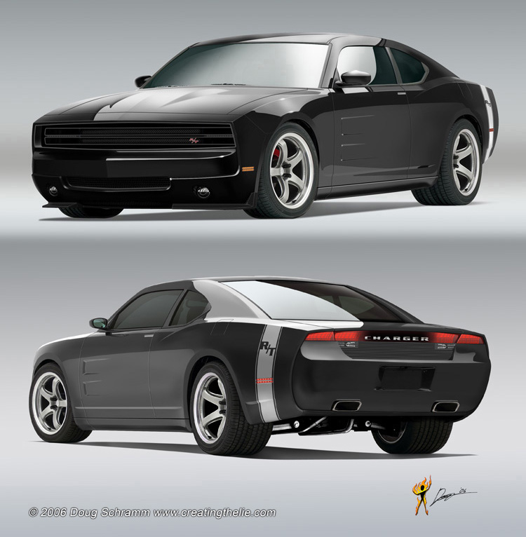 posted this concept image in another thread. I think if Dodge went