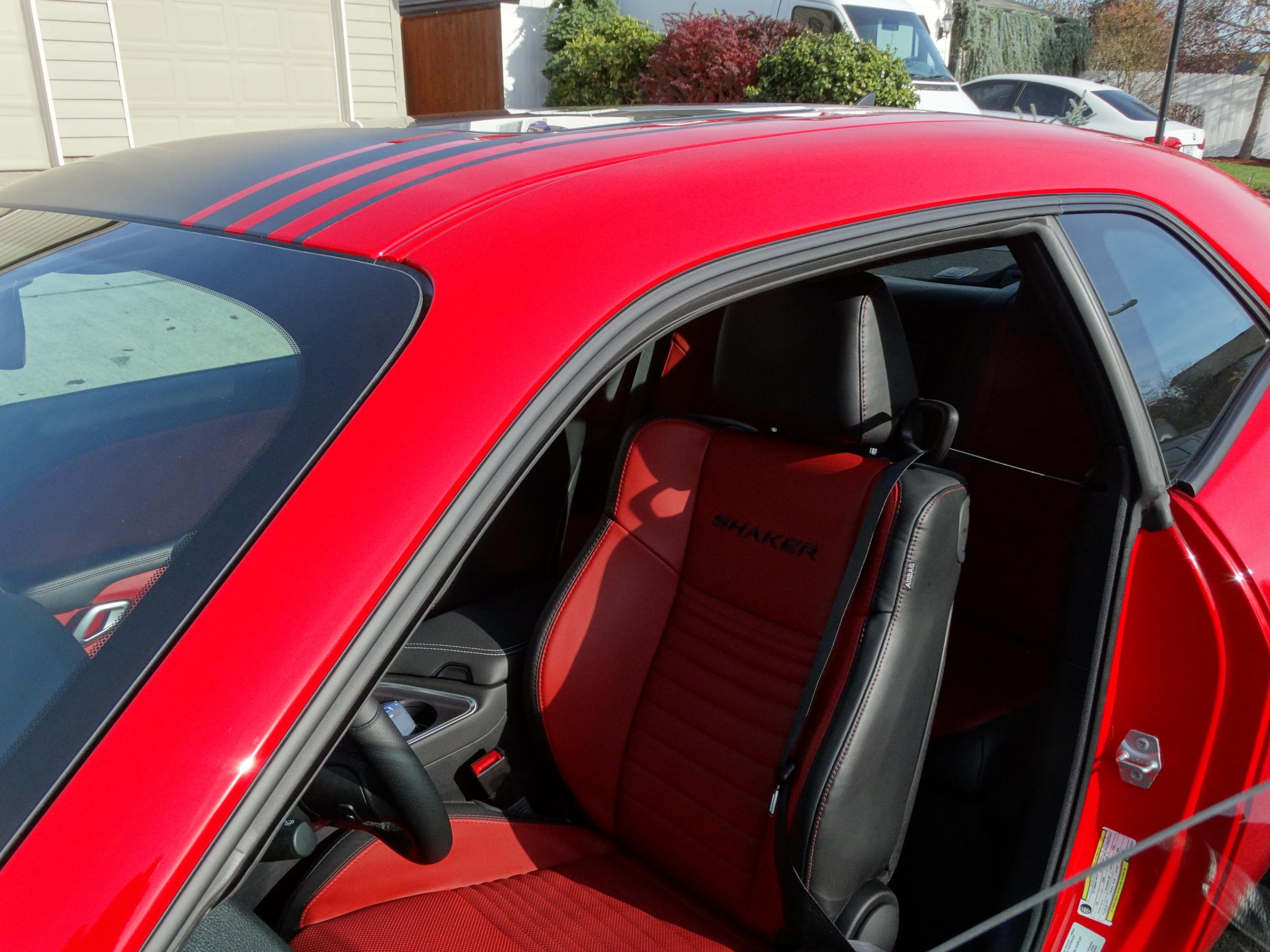 For Those Of You With The Red Interior Dodge Challenger Forum