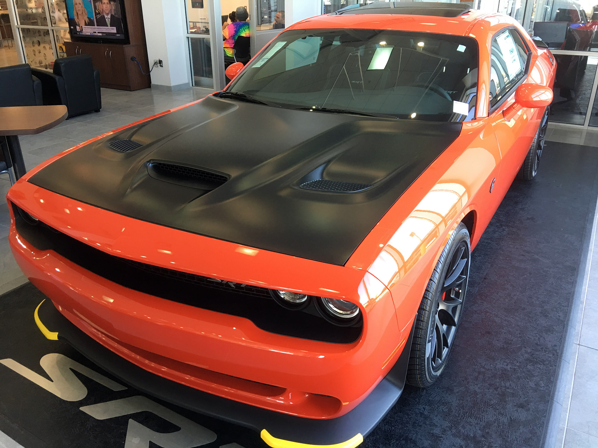 "Hemi Orange ""Twins"" - Dodge Challenger Forum: Challenger & SRT8 Forums"