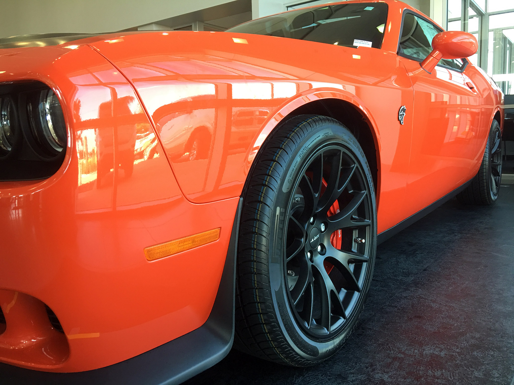 Go Mango Hellcat Color Close Up Dodge Challenger Forum
