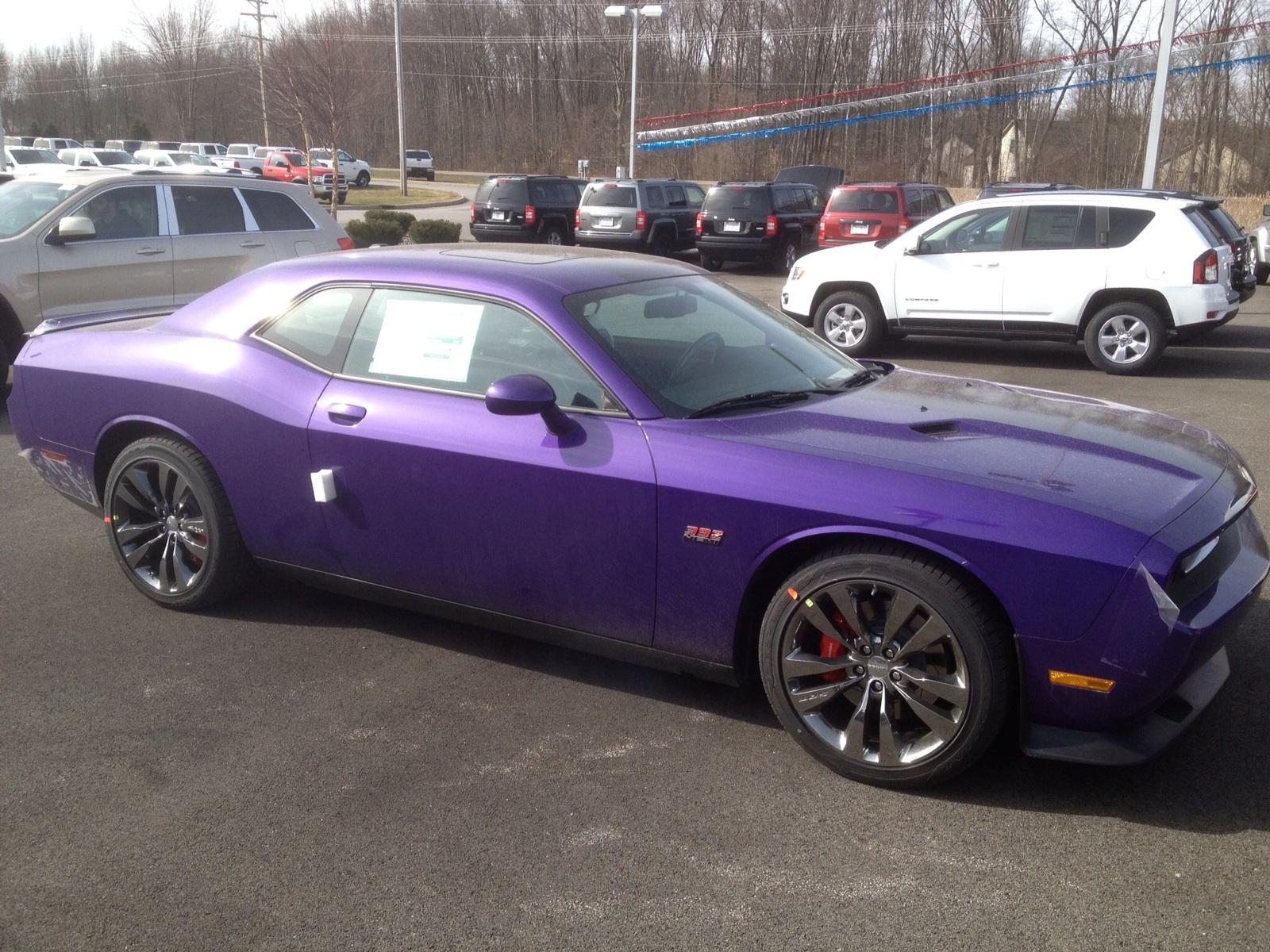 Dodge Challenger Plum Crazy Purple