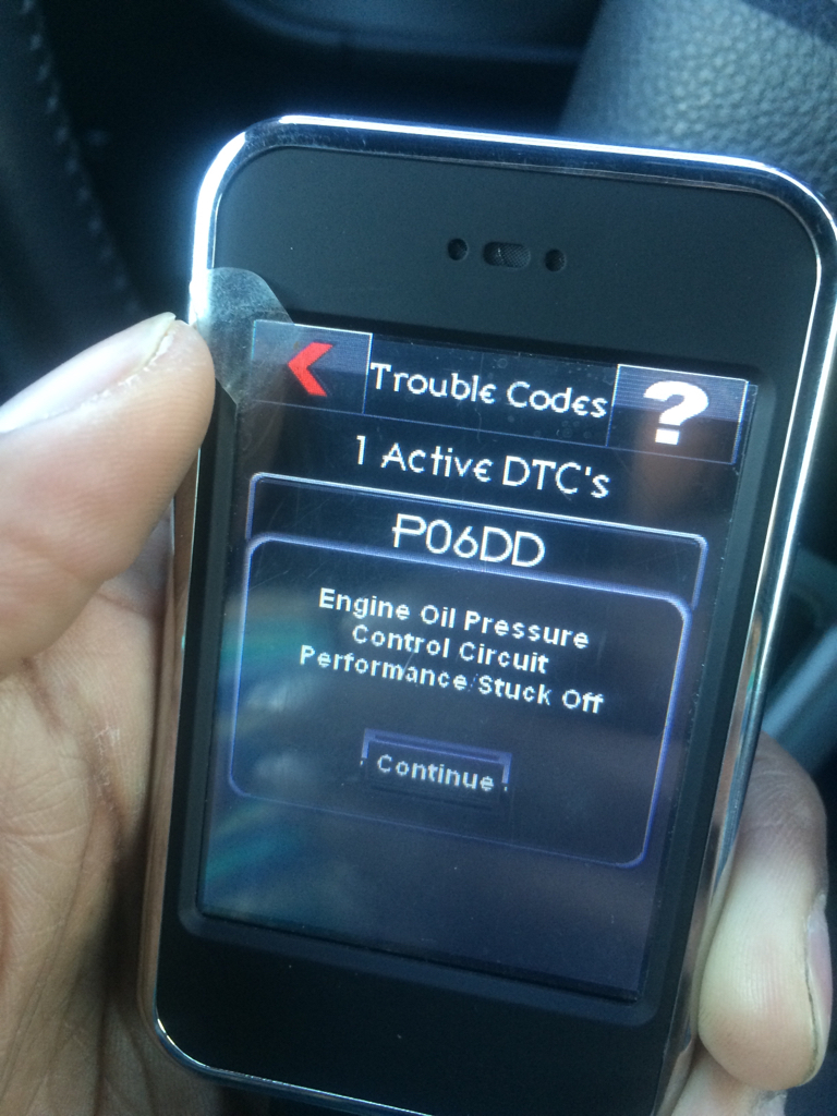 Engine code P06DD Check Engine light   Dodge Challenger Forum