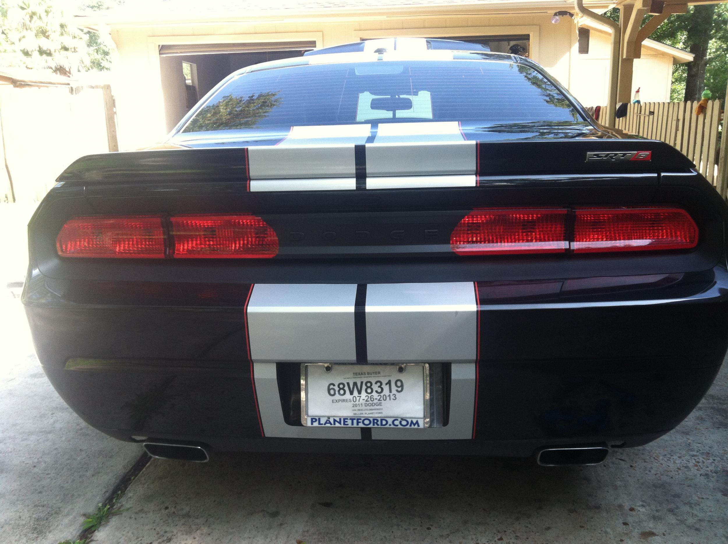 Daytona tail light overlay cover dodge challenger forum challenger srt8 forums
