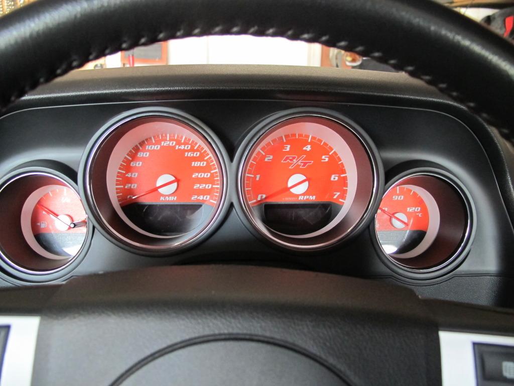 Retro Gauge Face Dodge Challenger Forum