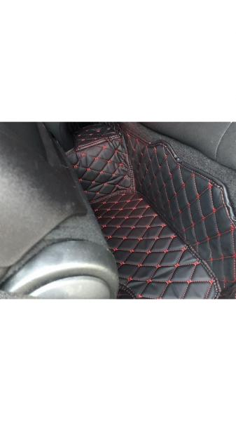 What do you think of these leather diamond car mats?