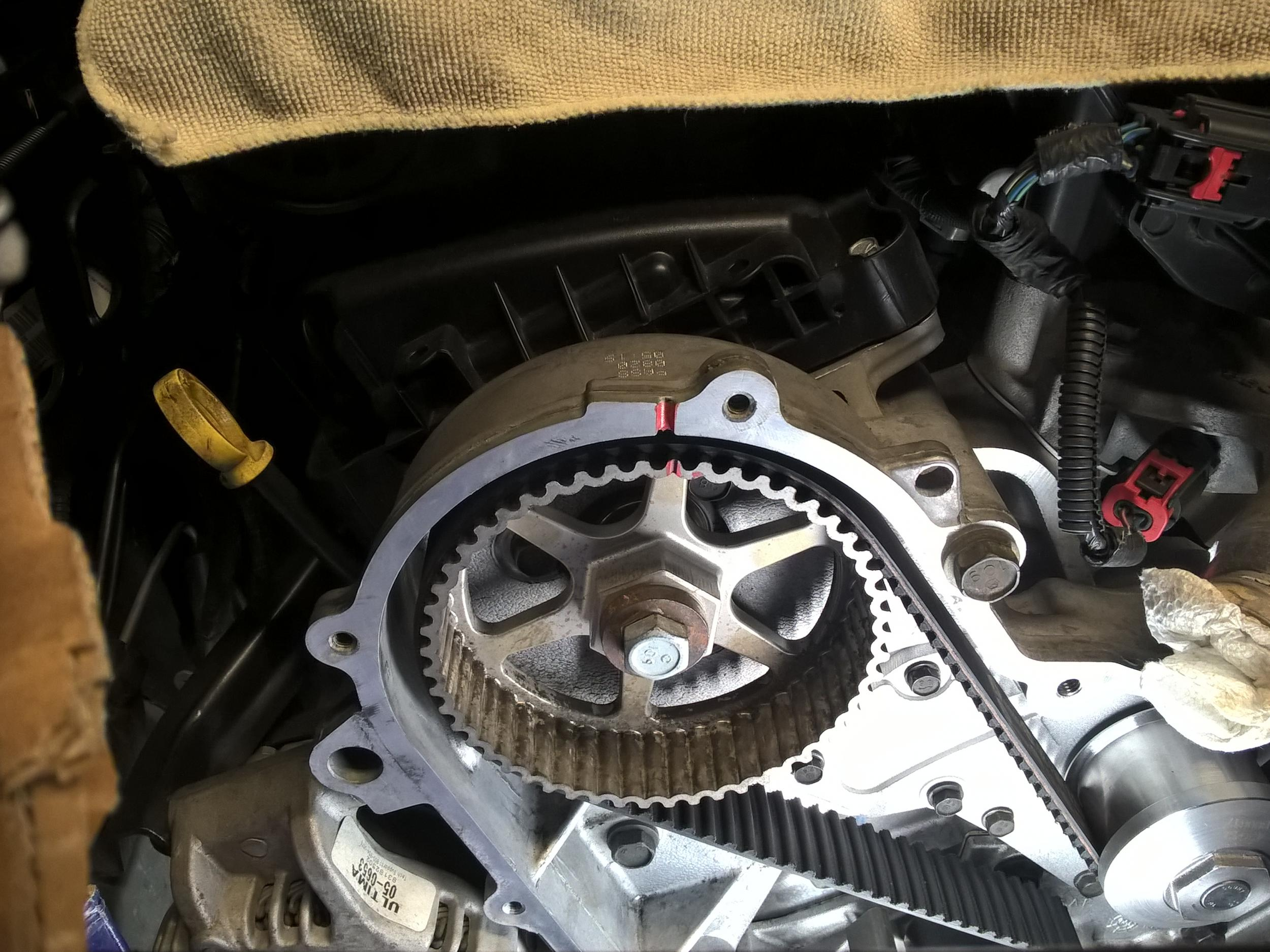 2007 Dodge Charger Water Pump