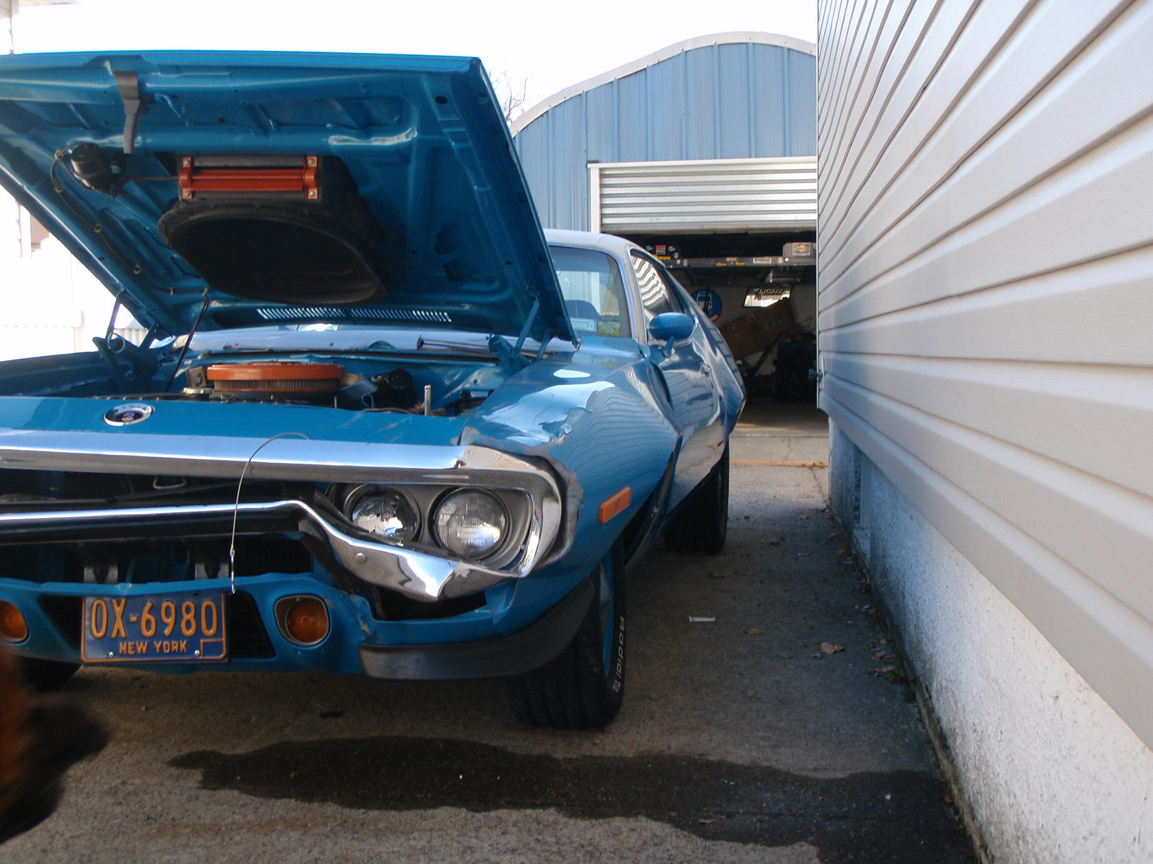 my 72 Road Runner - Dodge