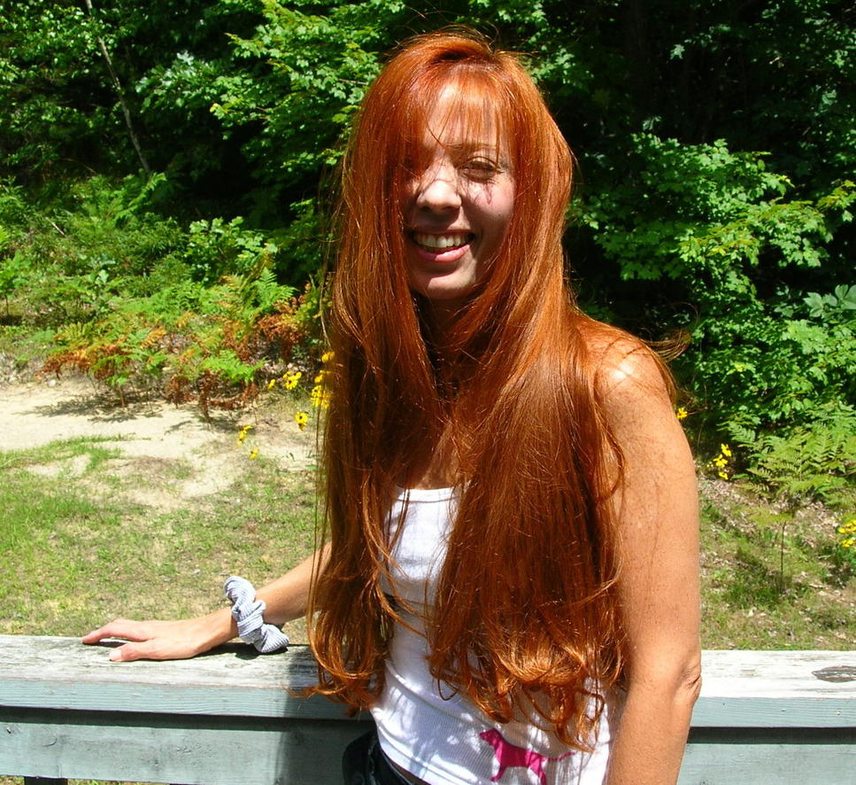 I want to see pictures of YOU and your Challenger.-red-hair-spring-07.jpg