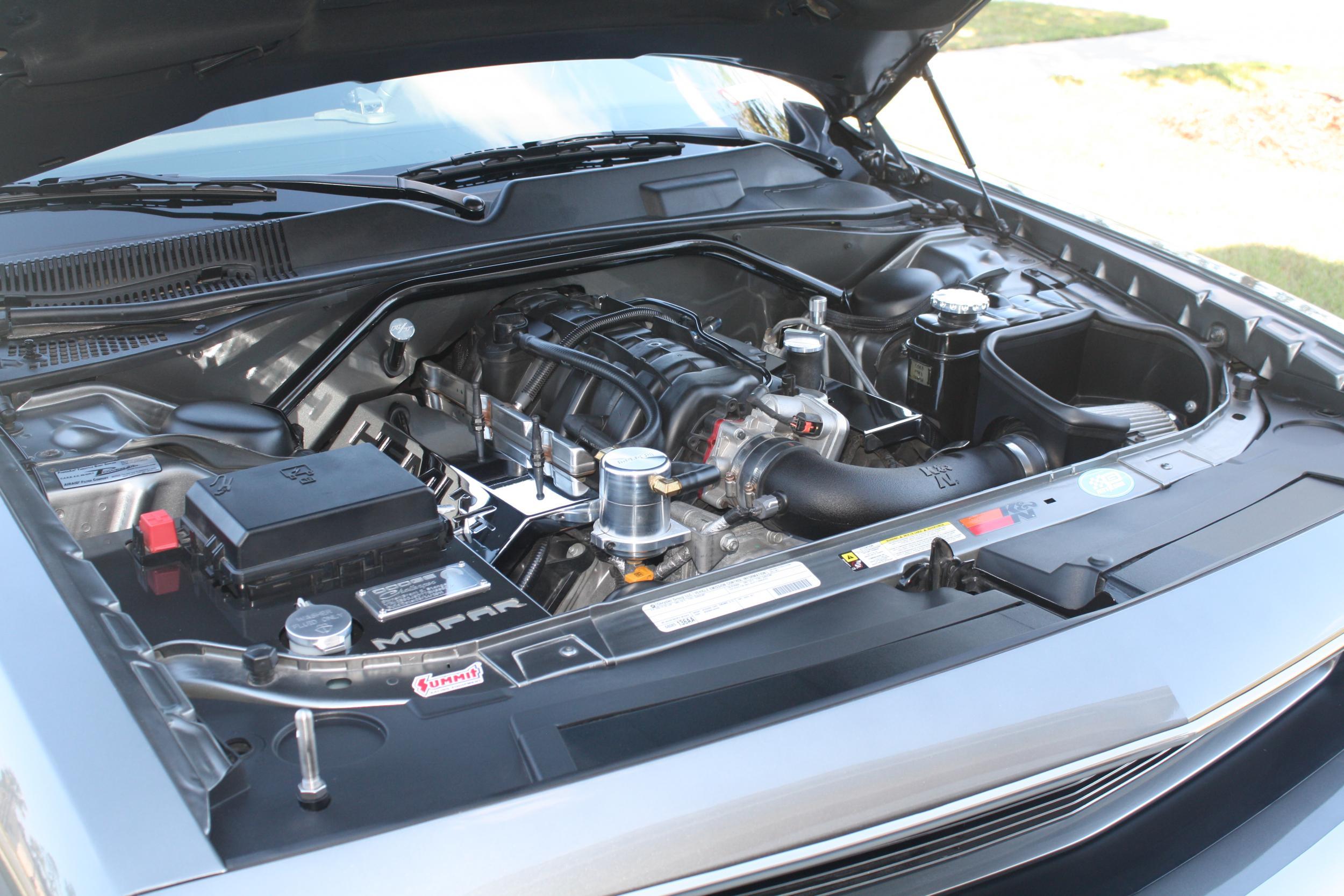 2008-12 Dodge Challenger Engine Bay Dress up kit
