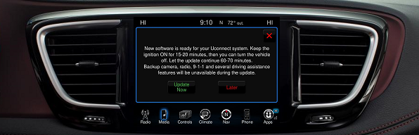 Automatic??) uConnect 8 4 update? | Dodge Challenger Forum