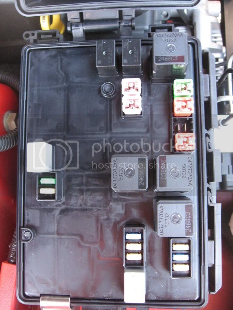 Dodge Challenger Fuse Box