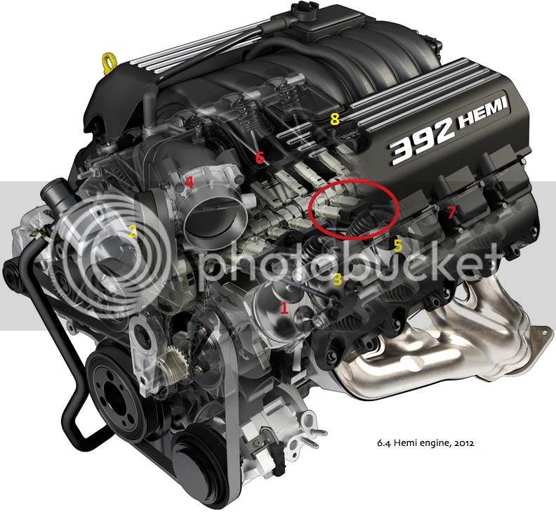 Clank, Clatter, Knock - 392 Engine Noise | Dodge Challenger