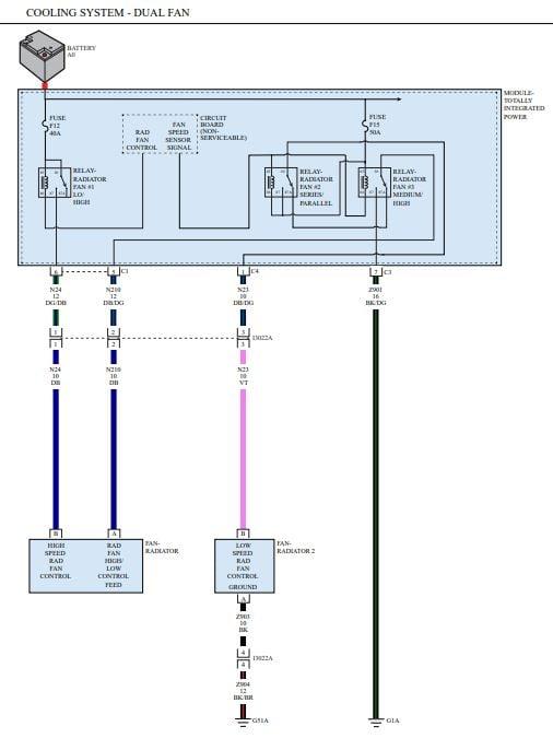 dual cooling fan wiring diagram radiator fan not working dodge challenger forum  radiator fan not working dodge