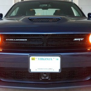 2015 Challenger SRT halo running lights on with flashers