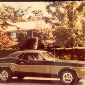 My 71 Challenger - when I had her, 1982