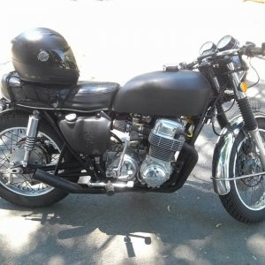 My other ride a Vintage 1973 Honda CB750