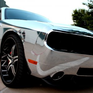 Chrome Wrap SRT