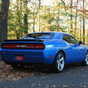 Challenger in the park