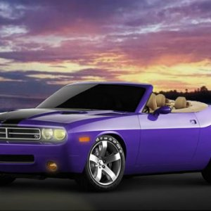 2008 Challenger Convertible Photomod