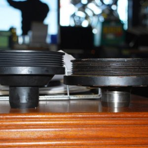 ASP PULLEY VS STOCK 5.7L PULLEY