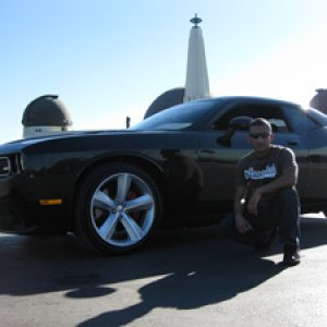 Me and my SRT8 @ Griffith Park Observatory