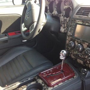 Hydrographics Custom Interior