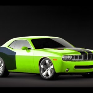 SubLime Green Cuda' Grille