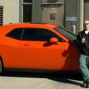 2009 Challenger RT Hemi Orange