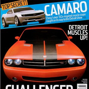 Automobile mag cover