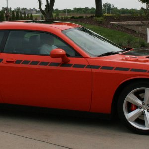 Challenger SRT8 on 05/14/09