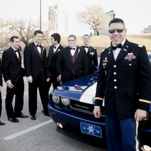 My Challenger Wedding