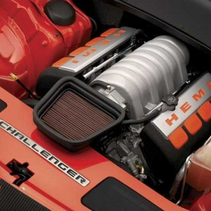 Challenger Concept Engine Bay