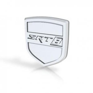 SRT8 Steering Wheel Badge