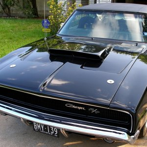 Charger's new vinyl top