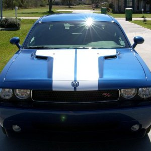 Deep Water Blue Pearlcoat Challenger R/T 6
