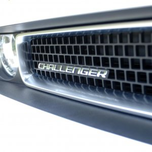 Stone White R/T Front Grill