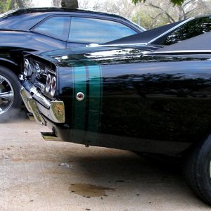 2009 Challenger and 1968 Charger