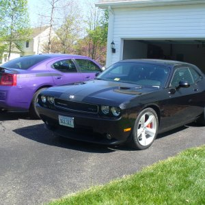 2008 Challenger with 2007 Charger R/T Daytona
